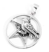 Pentagramm mit Rabe - am29