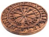 Vegvisir mit Runen - ws277
