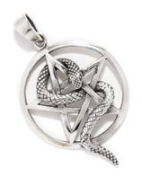 Pentagramm mit Schlange - am217