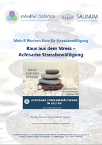 """NUR FÜR KURSTEILNEHMER: Coaching-Workbook """"Raus aus dem Stress - Achtsame Stressbewältigung"""""""