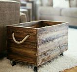 Cajón de maderas rústico