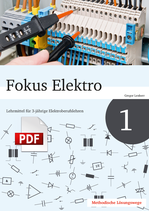 Fokus Elektro 1 // Lösungswege als PDF