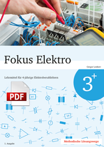 Fokus Elektro 3+ // Lösungswege als PDF