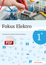 Fokus Elektro 1+ // Lehrerausgabe als PDF