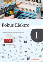 Fokus Elektro 1 // Lehrerausgabe als PDF