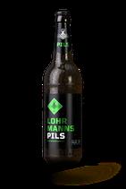 1 Flasche Lohrmann Pils 0,5l