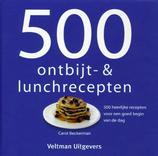 500 ontbijt- en lunchrecepten (Carol Beckerman)
