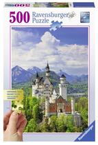 Puzzel Neuschwanstein: 500 stukjes