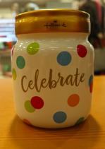Spaarpot Thema: 'Celebrate'