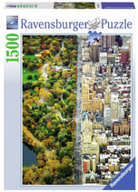 Puzzel Central Park New York: 1500 stukjes