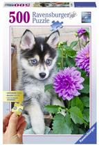 Puzzel Husky: 500 stukjes