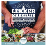 Lekker Makkelijk (Kookboek voor Mannen), door Alice van Nieuwenhuizen en Annemieke de Kroon