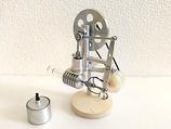 air chaud Stirling moteur avec générateur de lumière LED , Moteur stirling,  cadeau pour lui, cadeau pour mari, cadeau papa, cadeaux d'anniversaire, cadeaux garçon, cadeaux randpa, jouet ~ JAJ  1053