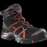 HAIX Black Eagle Safety 40 Mid BLACK/RED