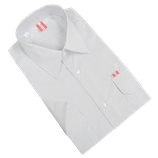 Diensthemd kurzarm weiß