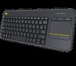Logitech k400 Plus Tastatur mit integrierten Trackpad