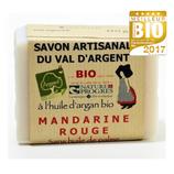 Savon artisanal du Val d'argent - MANDARINE ROUGE - 140gr