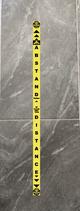 Abstand Halten Fußbodenaufkleber Band L/B 150x6 cm