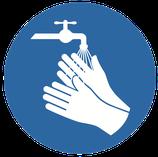 Adhésif Lavage des mains