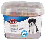 TRIXIE Junior Soft Snack Bones, 140g, mit Huhn, Lamm + Lachs, kleine und weiche Leckerlis (100g / 1,42€)