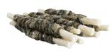 TRIXIE DENTA FUN Fish Chewing Rolls, Rinderhaut mit Fisch, 10 Stück / 75g, 12 cm (100g / 3,99€)