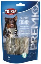TRIXIE PREMIO Salmon Cigars, 6 Stck / 70 g, Lachshaut, reich an Proteinen (1 stck / 0,58€)