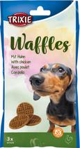 TRIXIE Waffles, mit Huhn, Glutenfrei, 3 St. / 100 g (100g / 1,99€)