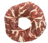 TRIXIE DENTA FUN Marbled Beef Chewing Ring, mit Rindfleisch, Ø 10 cm, 110 g (100g / 3,63€)