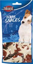 TRIXIE Ocean Snacks, mit Thunfisch, Glutenfrei, 14 St. / 100g (100g / 2,29€)