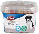 TRIXIE Junior Soft Snack Dots, 140g, mit Huhn + Lachs, kleine und weiche Leckerlis (100g / 1,42€)
