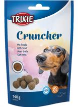 TRIXIE Cruncher, mit Forelle, Glutenfrei, 140g (100g / 1,42€)