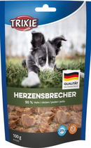 TRIXIE Herzensbrecher, mit Huhn, Glutenfrei, 100 g (100g / 3,49€)