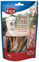 TRIXIE PREMIO Buffalo Sticks, 100g, mit 100% Büffelfleisch (100g / 3,49€)