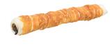 TRIXIE DENTA FUN Filled Chicken Chewing Roll, Rinderhaut mit Hühnerfleisch, gefüllt mit Rinderleber- und Lunge, 28 cm, 150 g (100g / 3,99€)