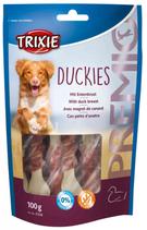 TRIXIE PREMIO Duckies, 100g, Snackknochen ummantelt mit Entenfleisch (100g / 2,29€)