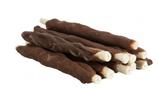 TRIXIE DENTA FUN Rabbit Chewing Rolls, Rinderhaut mit Kaninchenfleisch, 6 Stück / 70g, 12 cm (100g / 3,56€)
