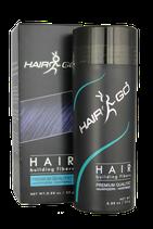 HAIR&GO Premium Schütthaar zur Haarverdichtung | Haarpuder | Streuhaar 100% natürlich & vegan aus Baumwolle