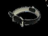 Hundehalsband aus Fahrradreifen schwarz 41 - 47cm