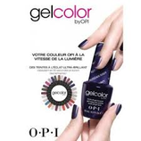 POSE DE VERNIS SEMI PERMANENT GEL OPI / SHELLAC