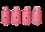 10 x Keramische Gasdüse für WIG-Brenner mit Gaslinse Typ 17/18/26
