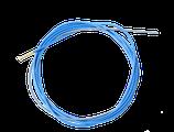 Drahtspirale isol. blau für Stahl