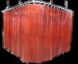 Schweißschutzvorhang 1400 mm breit inkl. Halteringe