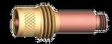 Spannhülsen-gehäuse mit Gaslinse