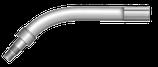 Brennerhals MHS RAUCH-250 mit Isolierungen und Sechs-kantmutter