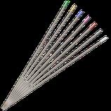 Wolframelektroden Ø 2,4 mm 10 St. verschiedene Farben