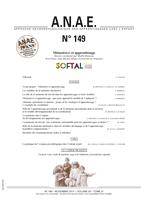 ANAE N° 149 - MEMOIRE(S) ET APPRENTISSAGE