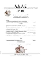 ANAE N° 146 - Les Fonctions exécutives chez l'enfant