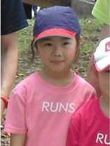 RUNS‐Tシャツ キッズ ピンク