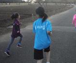 RUNS‐Tシャツ キッズ ターコイズ(水色)