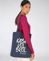 """Tote-bag """"Kaba vol brol"""""""